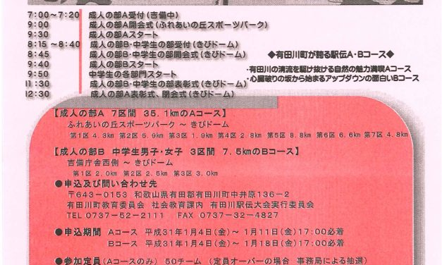 有田川駅伝