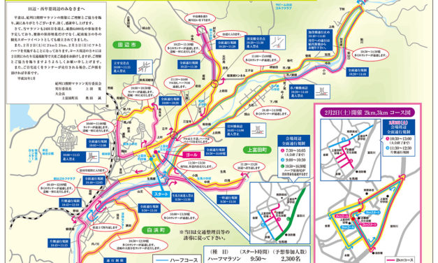 第24回 紀州口熊野マラソン